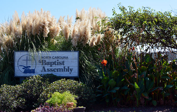 Fort Caswell grounds are now maintained by the North Carolina Baptist Assembly
