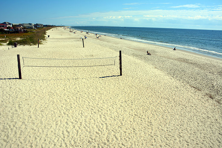 Volleyball Courts On Oak Island Nc