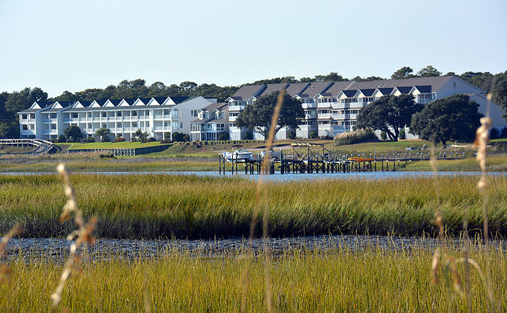 Condos on the water in Ocean Isle Beach