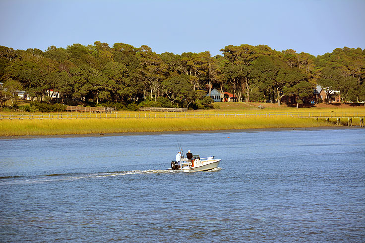 Boating in Ocean Isle Beach