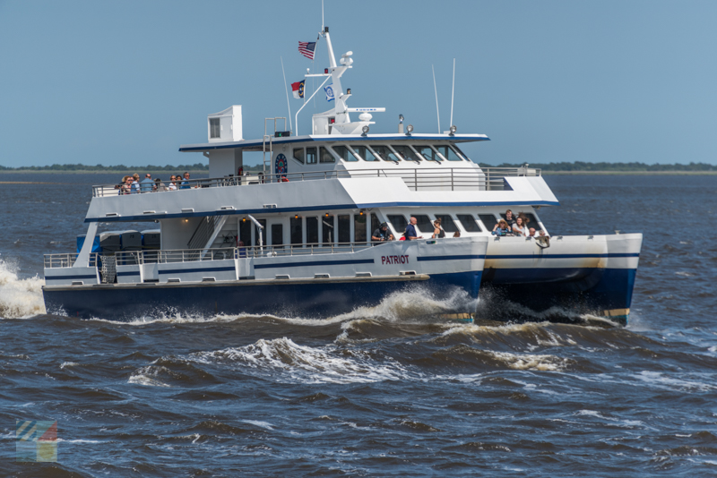 The Bald Head Island Ferry runs often