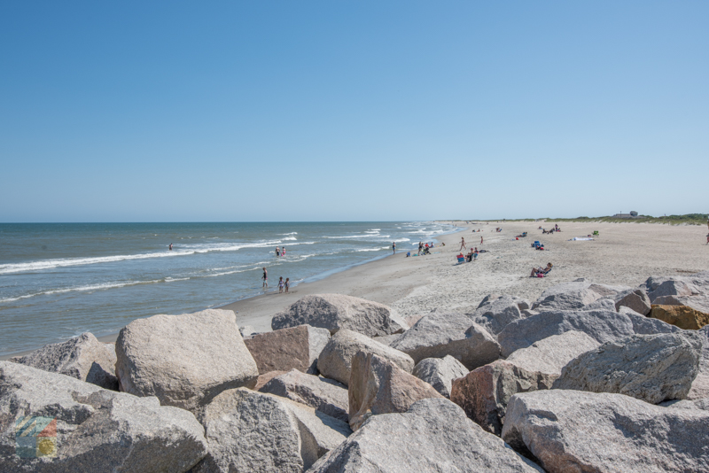Fort Fisher Recreational Site Beach