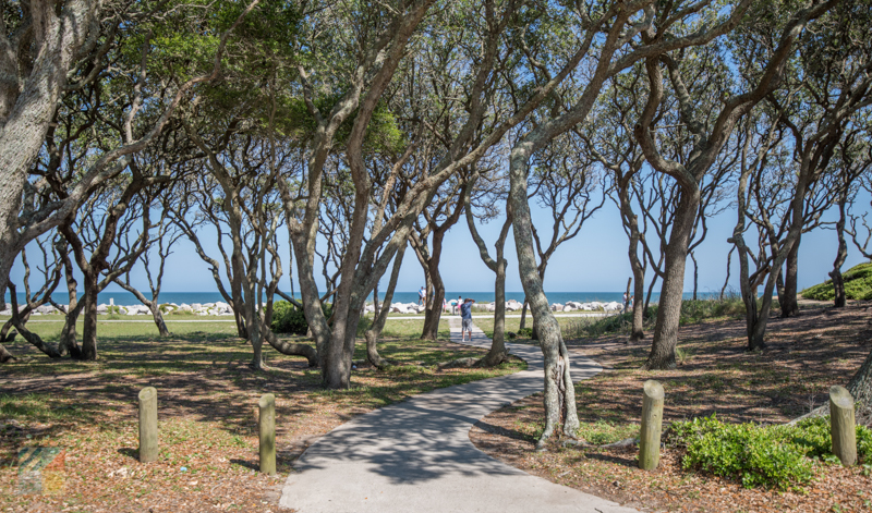 Fort Fisher State Recreational Area is beautiful