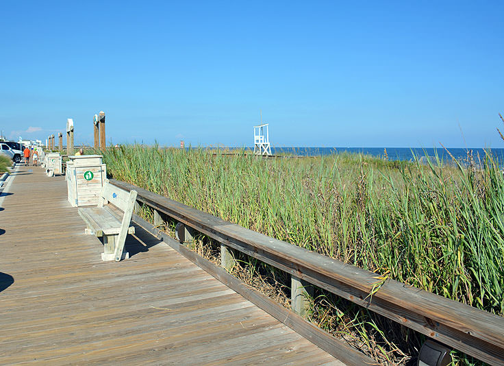 Kure Beach Oceanfront Boardwalk