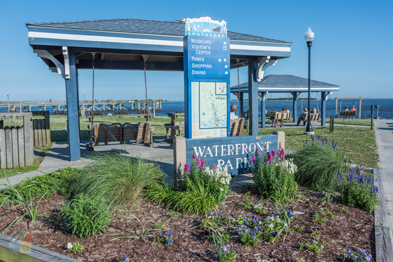 Southport NCWaterfront Park and Pier