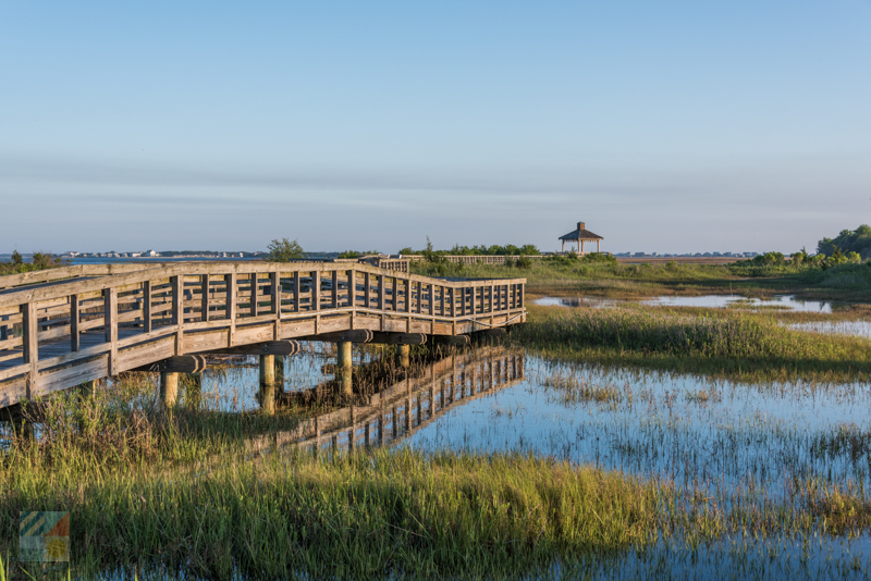 The Marsh Walk in Southport, NC