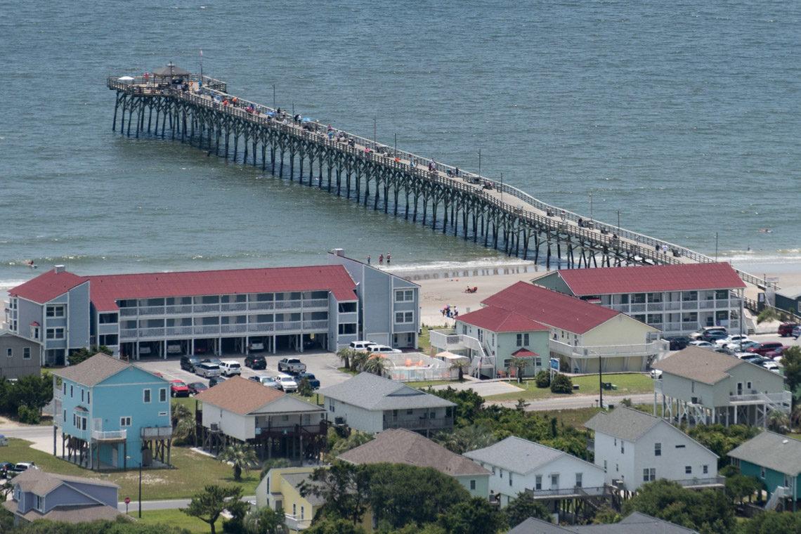 Sunset beach capefear for Ocean crest fishing pier
