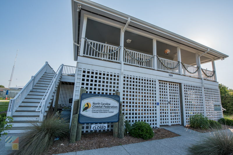 Fred and Alice Stanback Coastal Education Center in Wrightsville Beach NC