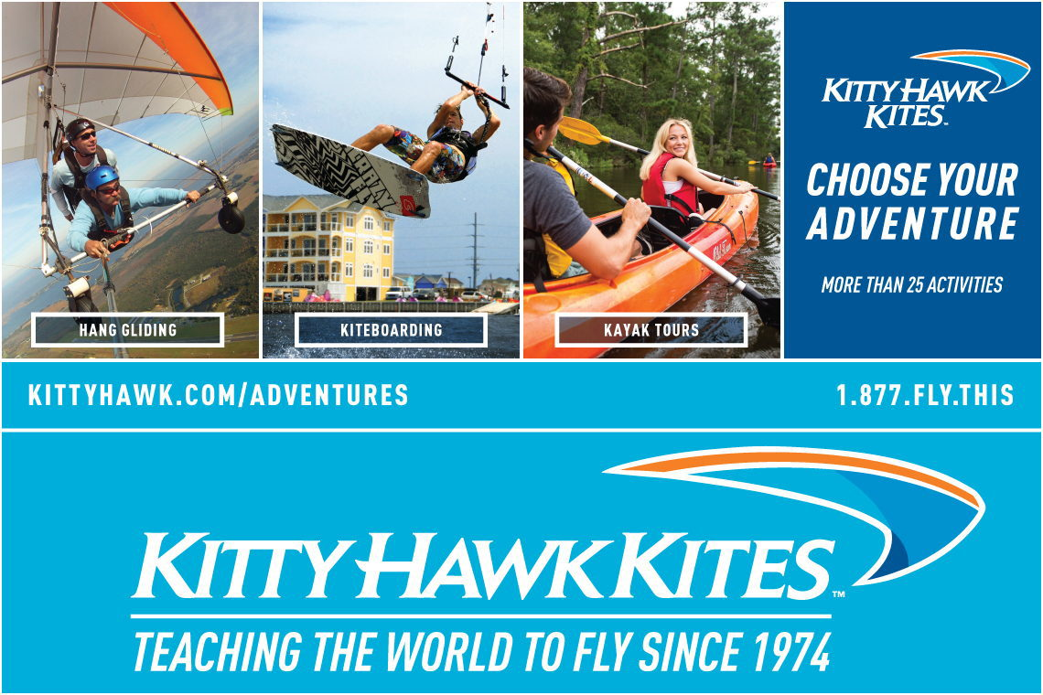 $5 OFF ADVENTURES AT KITTY HAWK KITES