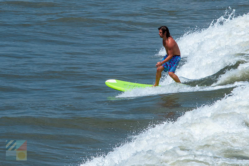Holden Beach surfer