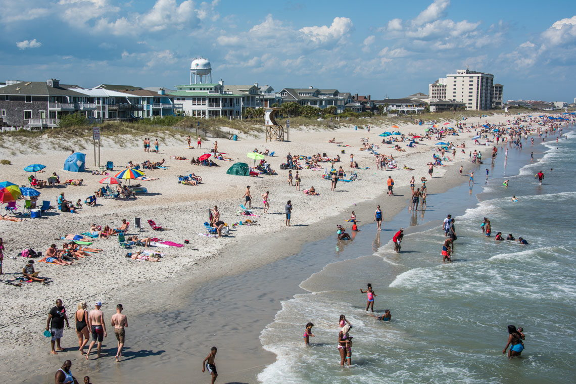 Cape Fear area Beaches Information - Capefear-NC.com